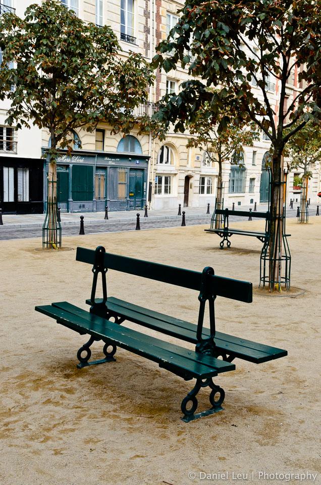Banc, Paris