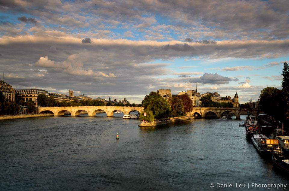 Pont Neuf et Île de la Cité, Paris