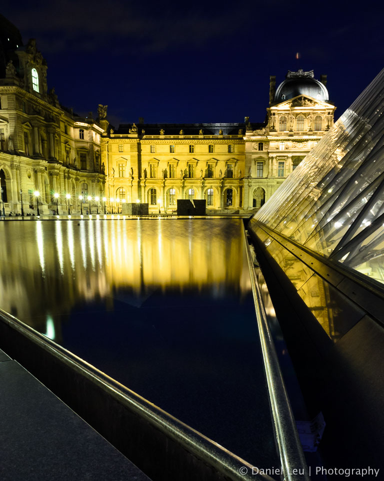 The Pond at the Louvre