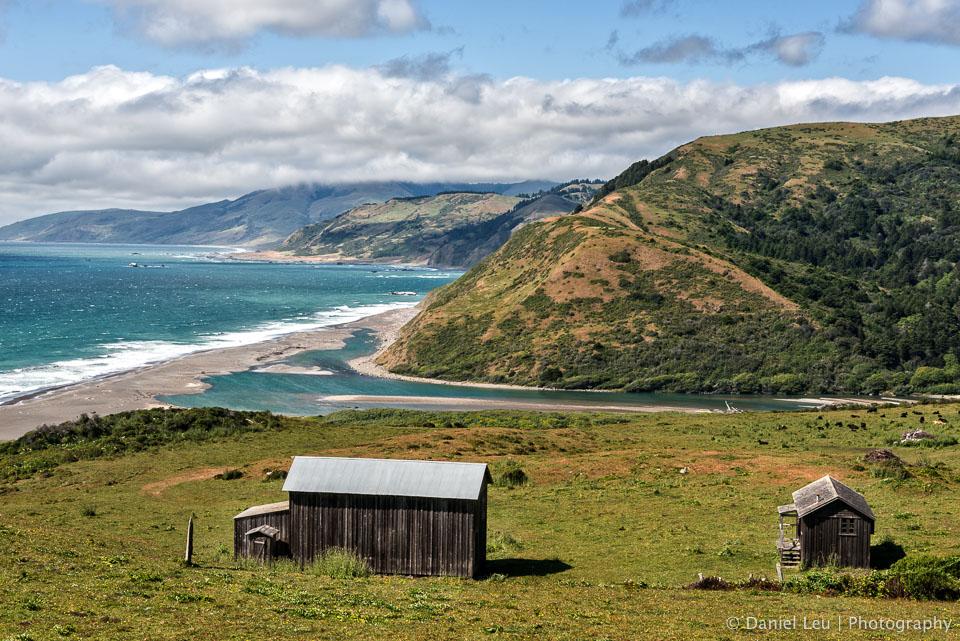 Barns at the Pacific Coast