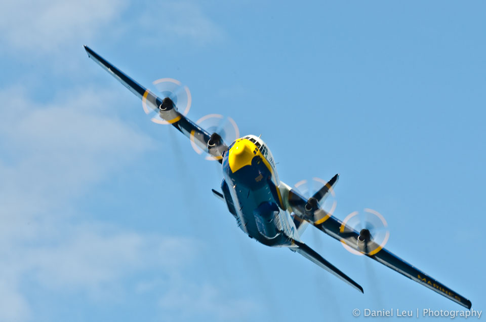 Blue Angels' Fat Albert – SF Fleet Week 2011