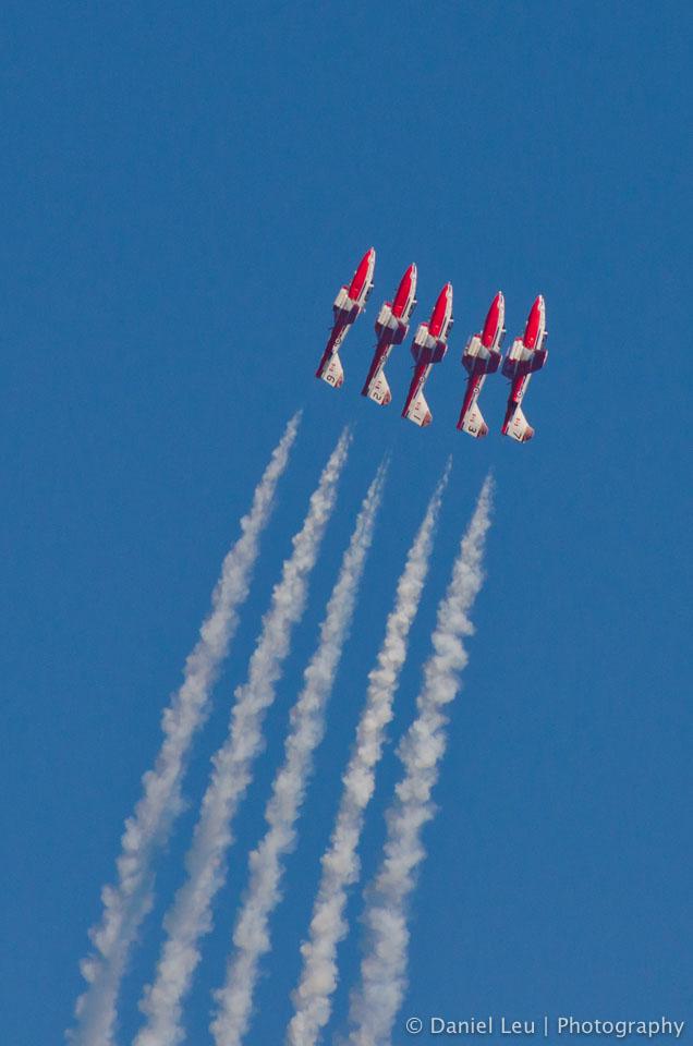 Canadian Snowbirds – SF Fleet Week 2011