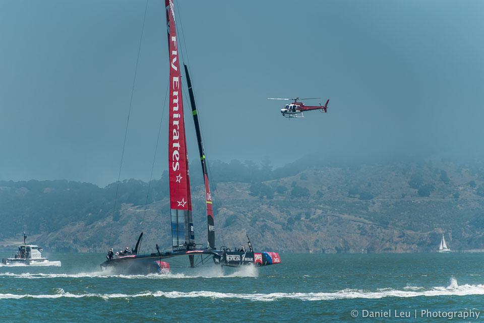 Louis Vuitton Cup - RR1, Race 2, 7/9/2013