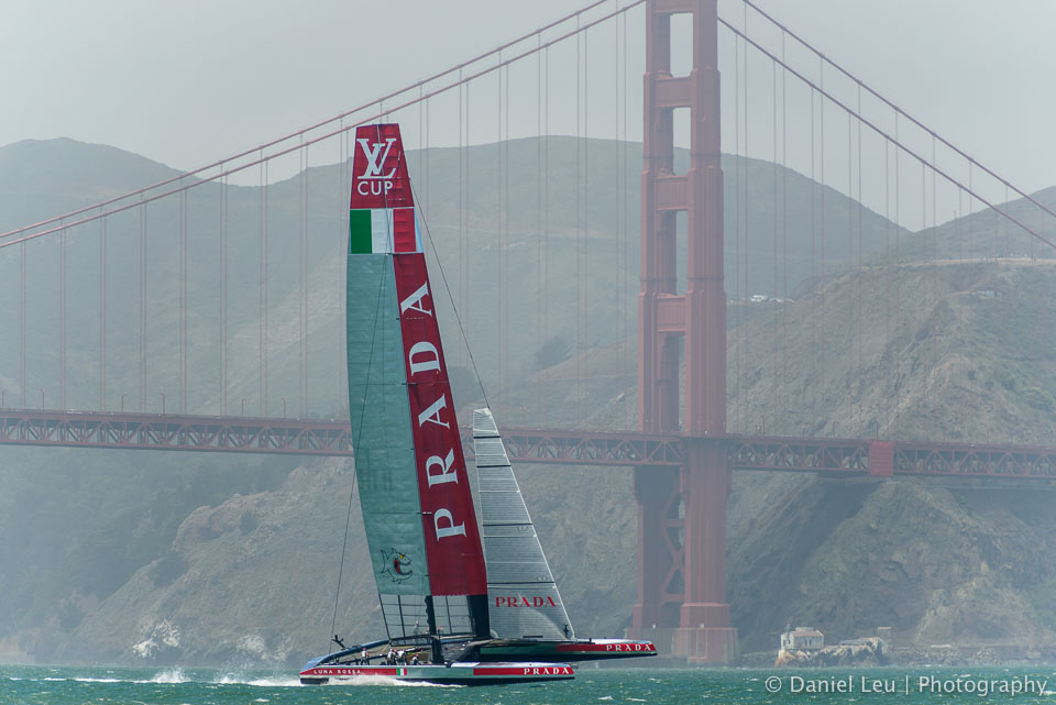 Louis Vuitton Cup - RR2, Race 1