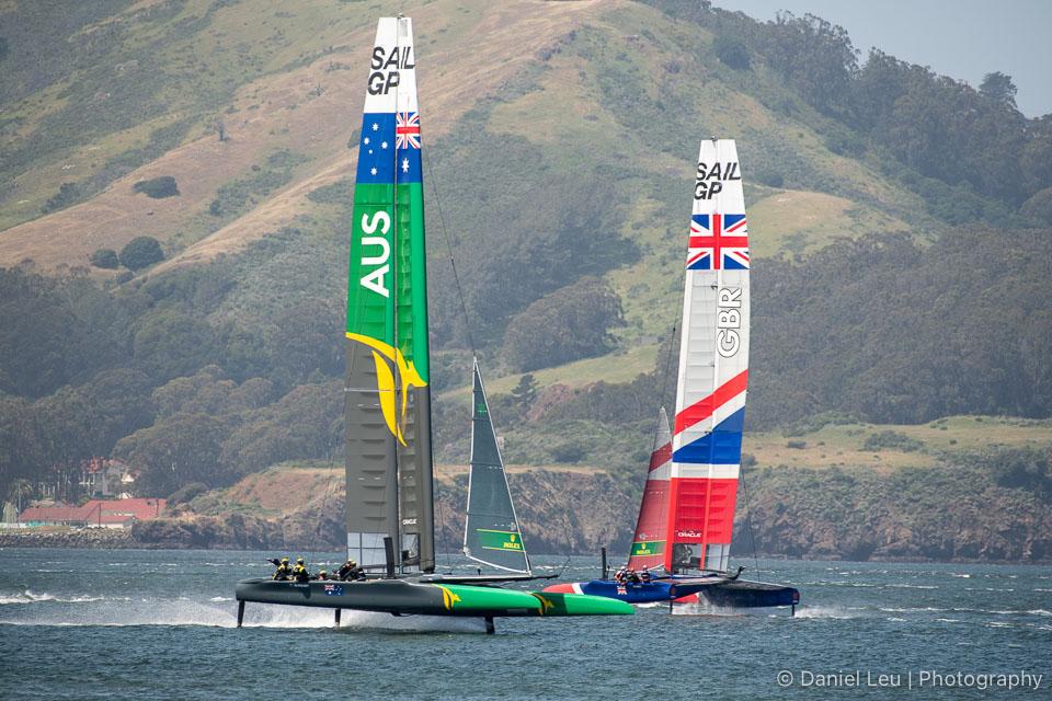 Sail GP SF – Training Session 4/29/2019