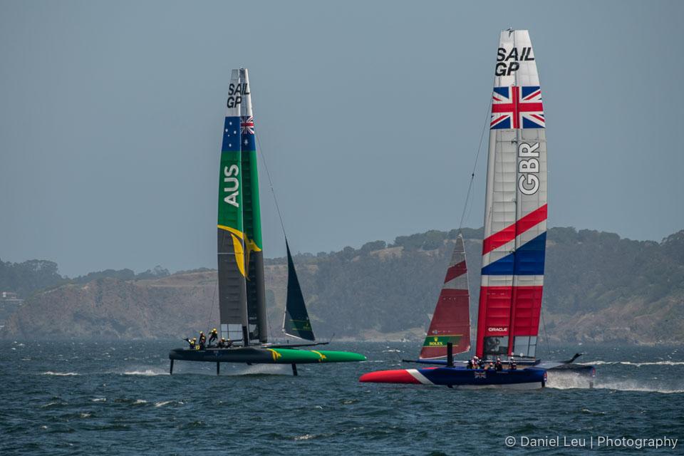 Sail GP SF – Training Session 5/1/2019
