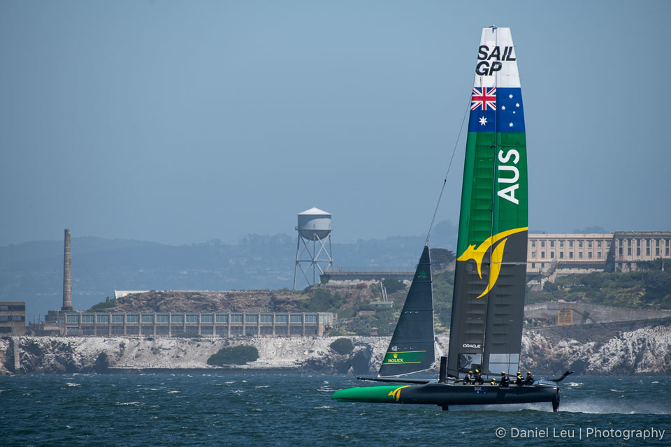 Sail GP SF – Training Session 5/1/2019