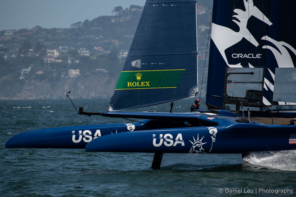 Sail GP SF – Training Session 5/2/2019
