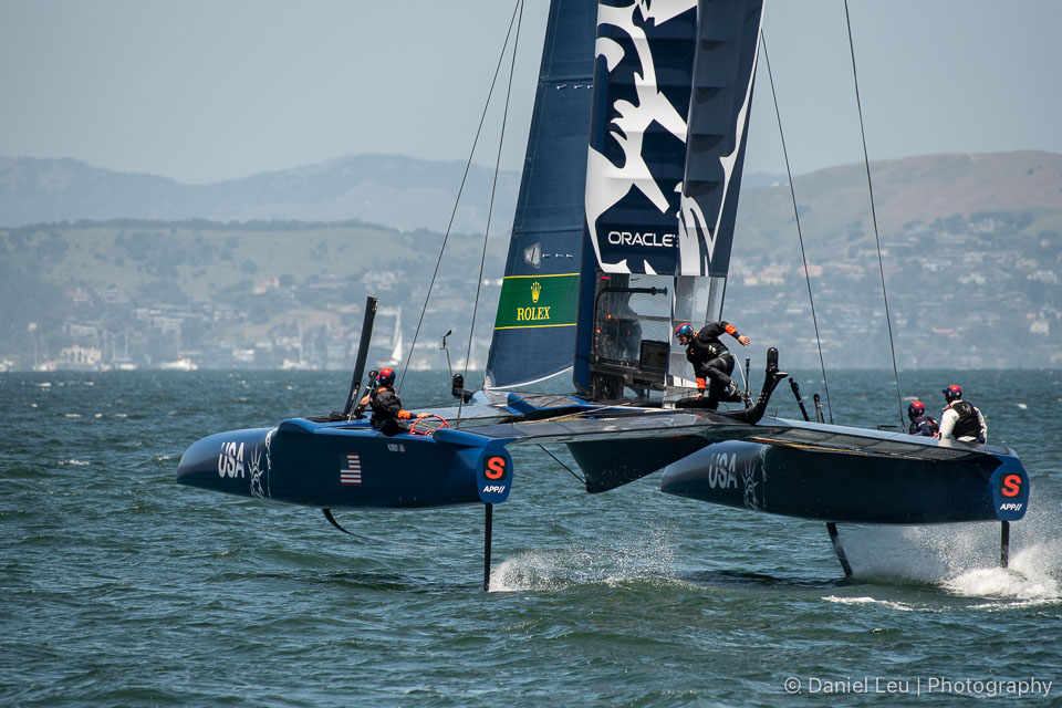 Sail GP SF – Training Session 5/2/2019