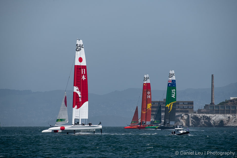 Sail GP SF – Training Races 5/3/2019
