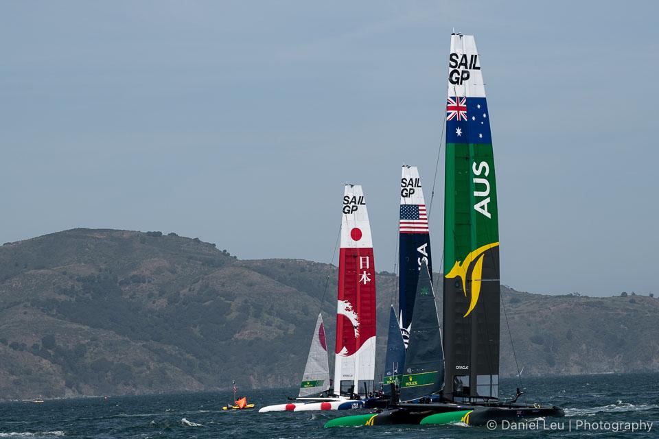 Sail GP SF – Training Races 5/3/2019