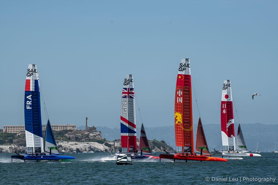 Sail GP SF – Race Day 1, 5/4/2019