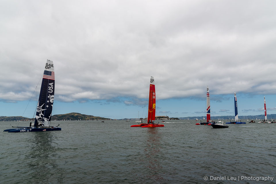 Sail GP SF – Race Day 2, 5/5/2019