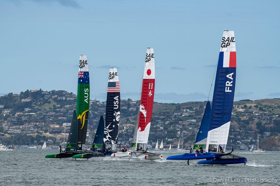 Sail GP SF – Race Day 2, 5/5/2019