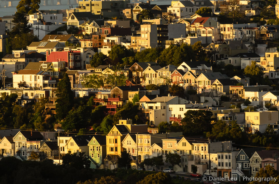 Potrero Hill at sunset, #2