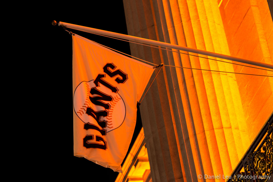 San Francisco basks in orange – The SF Giants won the World Series a second time in three years and city celebrates.  More on my blog at http://blog.leu.org/2012/10/san-francisco-basks-in-orange.html  © 2012 Daniel Leu, All rights reserved, http://www.DanielLeu.com