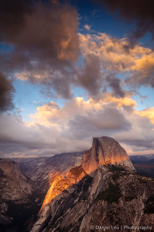 Half-Dome at Sunset