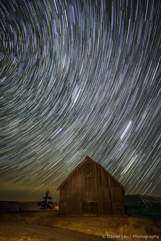 The Barn with Startrail – Oregon
